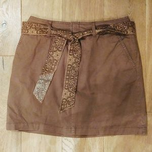 St. Johns bay brown skort size 6